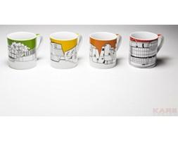 Kare Design Buildings Pop Kubek Porcelanowy Różne Kolory - 33934