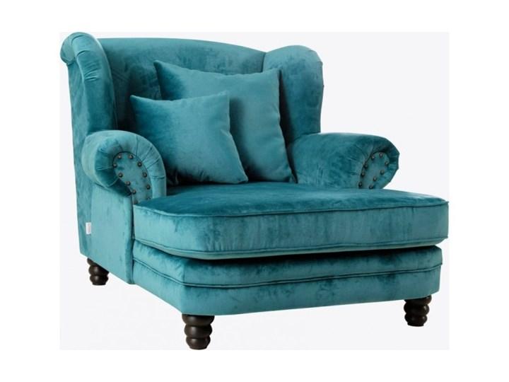 Fotel Tito Fotel tradycyjny Kategoria Fotele do salonu Wysokość 70 cm Drewno Tkanina Styl Nowoczesny