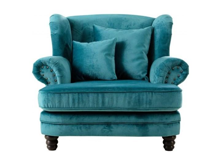 Fotel Tito Drewno Wysokość 70 cm Tkanina Fotel tradycyjny Styl Nowoczesny