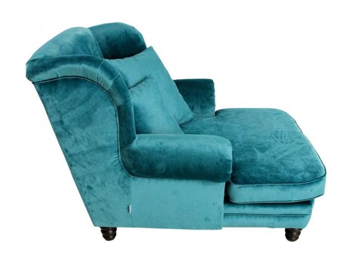 Fotel Tito Drewno Wysokość 70 cm Tkanina Kategoria Fotele do salonu Fotel tradycyjny Styl Nowoczesny