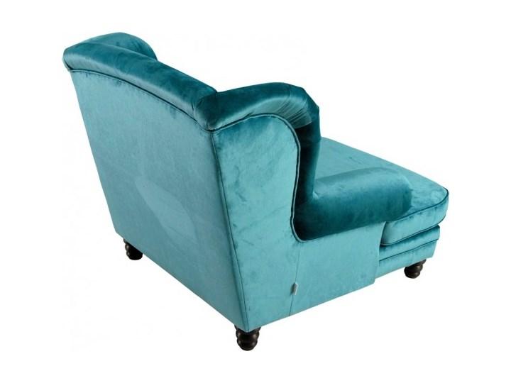 Fotel Tito Wysokość 70 cm Fotel tradycyjny Tkanina Drewno Styl Nowoczesny