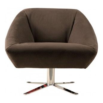 Fotel Viberto brązowy