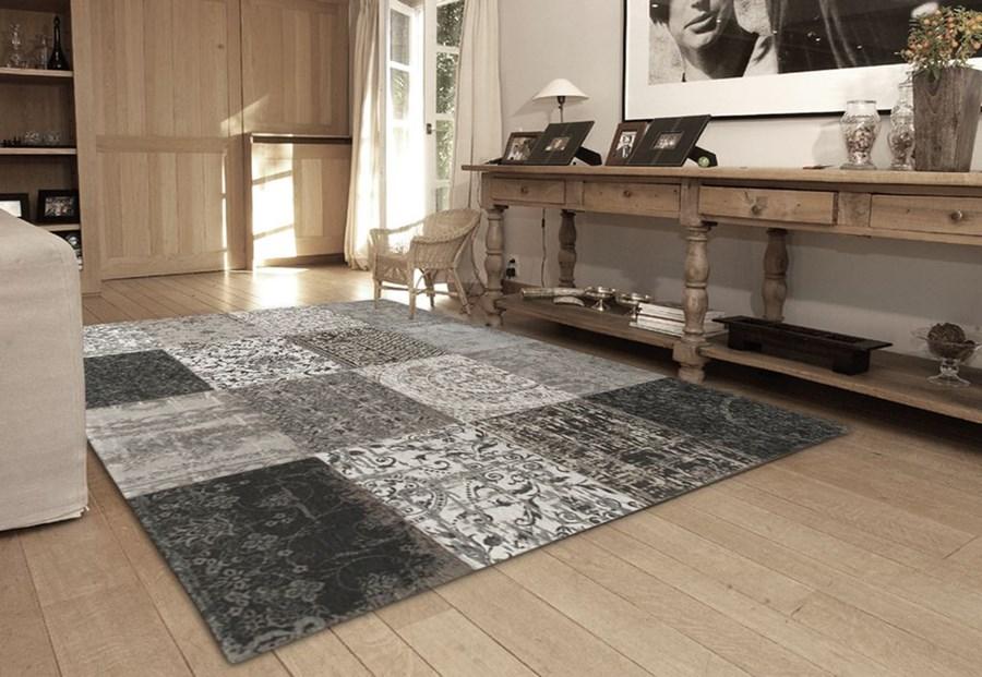 Cap quadra grigio dywan szary 140 x 200 cm 4001 14 20 dywany zdj cia pomys y inspiracje - Acapulco tapijt ...