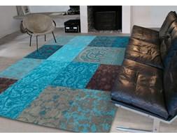 CAP Quadra Blu Dywan Niebieski 140 x 200 cm - 4105-14-20