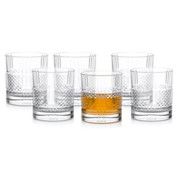 Zestaw szklanek do whisky DUKA BERGSTOPP 6 sztuk 330 ml szkło