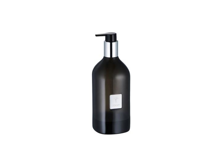 Dozownik do mydła antracytowy JOOP! Crystal line 011511423 Dozowniki Kolor Czarny