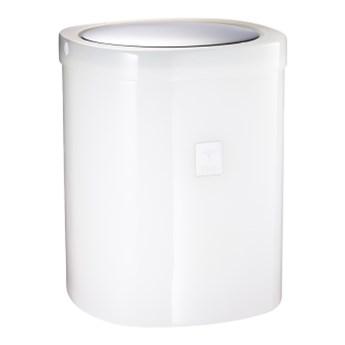 Kosz na odpady biały JOOP! Crystal line 011541410