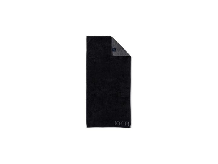 Ręcznik frotte czarny JOOP! Classic Doubleface 1600
