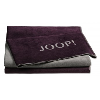 Pled bordowy JOOP! Uni Double Face 739360