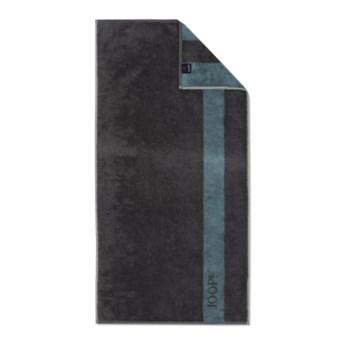 Ręcznik frotte szary JOOP! INFINITY Doubleface 1678