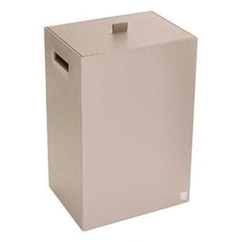 Kosz na pranie kwadratowy szary JOOP! Bathline 010950413