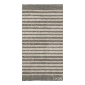 Ręcznik frotte szary JOOP! Classic Stripes 1610