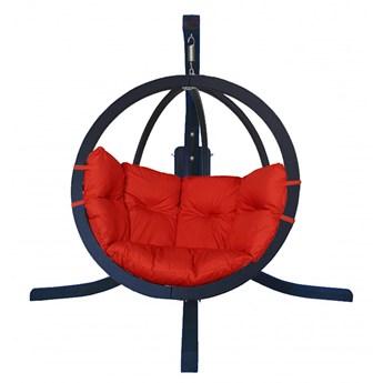 Zestaw: stojak Alicante Antracyt + fotel Swing Chair Single (9), Alicante +Swing Chair Single (9)