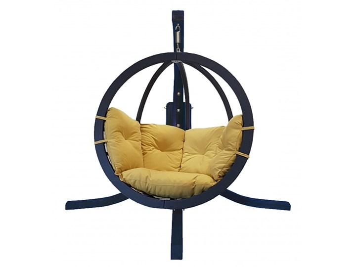 Zestaw: stojak Alicante antracyt + fotel Swing Chair Single antracyt, Alicante+Swing Chair Single (8) Wiszące Drewno Kategoria Fotele ogrodowe