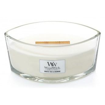 Świeczka elipsa WoodWick White Tea & Jasmine Elipsa 453,6g
