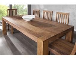 I & I Makassar Drewniany Stół 200x100x76cm Drewno Palisander lakier półmat - i15516