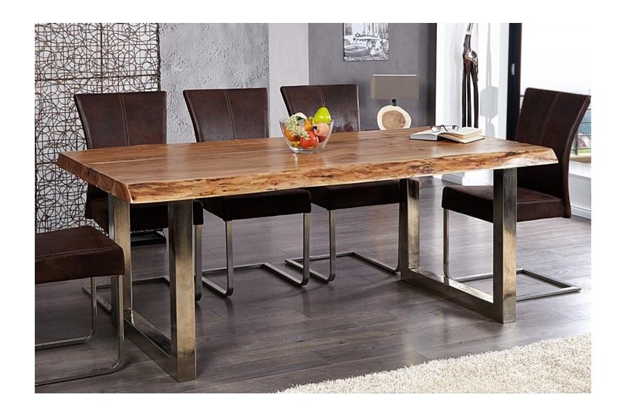 i i tree pad designerski drewniany st 200x100cm drewno. Black Bedroom Furniture Sets. Home Design Ideas