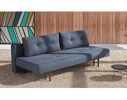 Innovation Istyle Recast Sofa Rozkładana, niebieska tkanina 515, nogi drewniane - 742050515-3-2