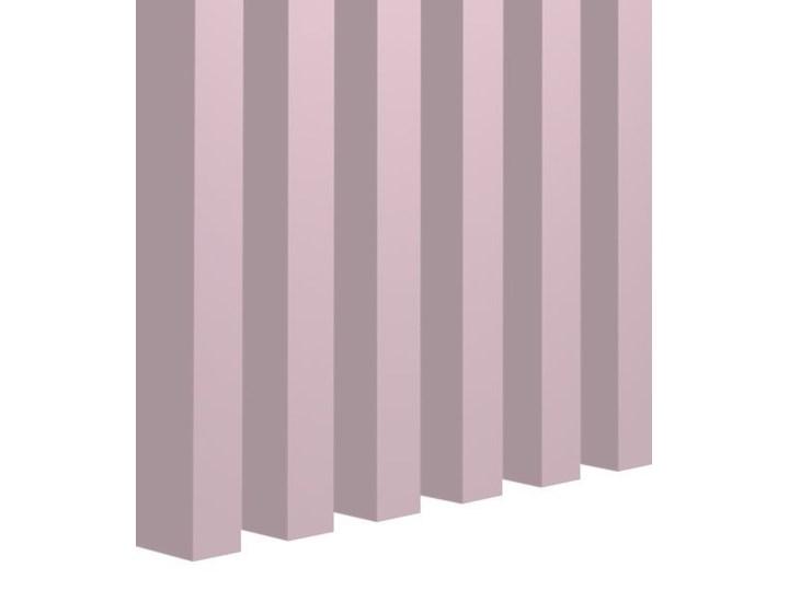 Lamele Pastel 3D – pionowe panele dekoracyjne 3 D MAT – 240 cm – 5 dekorów - uniwersalny  - LM024 - Pudrowy róż Kategoria Panele 3D Kolor Brązowy