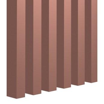 Lamele Pastel 3D- Kawowy róż - Dirty pink – Mauve -  dekoracyjne panele ścienne - uniwersalny  - LM021 - Kawowy róż