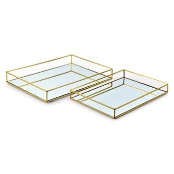 CEDRIC GOLD Kpl. 2 tac                  35x25x4cm/40x30x5cm