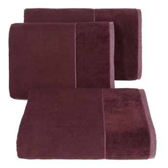 Ręcznik LUCY 70x140cm 08 bordowy