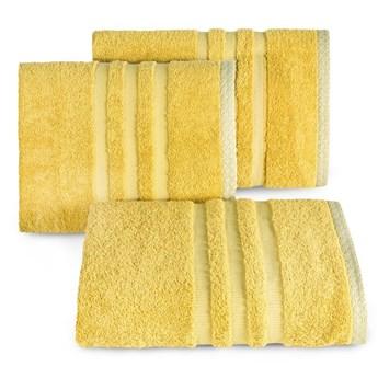 Ręcznik ALAN 70x140cm musztardowy