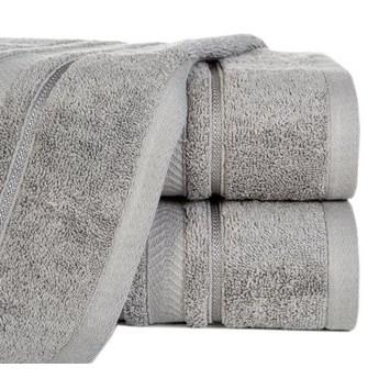 Ręcznik NEFRE 50x90cm stalowy