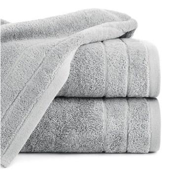 Ręcznik DAMLA 70x140cm stalowy