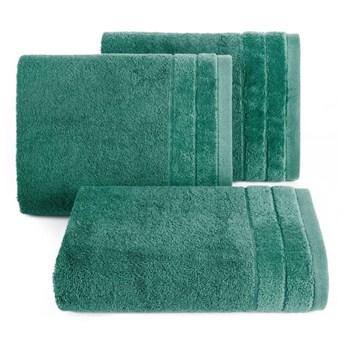 Ręcznik DAMLA 70x140cm ciemny zielony