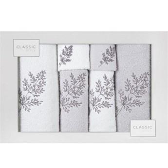 Kpl.6 ręczników KAMIL b-srebrny          380