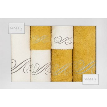Kpl.6 ręczników KAMIL k-musztard         380