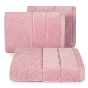 Ręcznik MARI 50x90cm ciemno liliowy