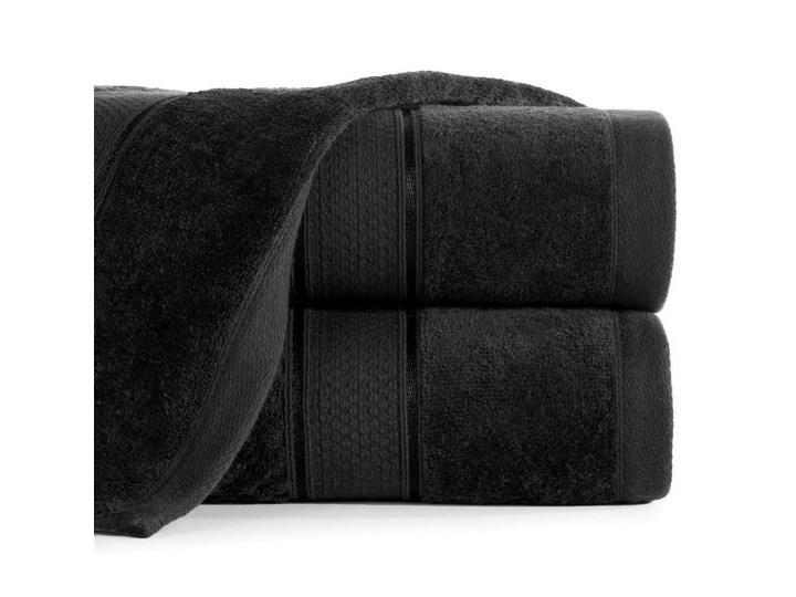 Ręcznik JESSI 50x90cm czarny 50x90 cm Kategoria Ręczniki