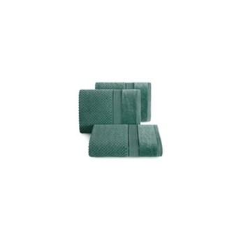 Ręcznik JESSI 70x140cm ciemno zielony