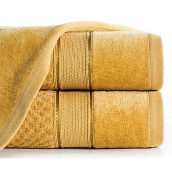 Ręcznik JESSI 70x140cm musztardowy