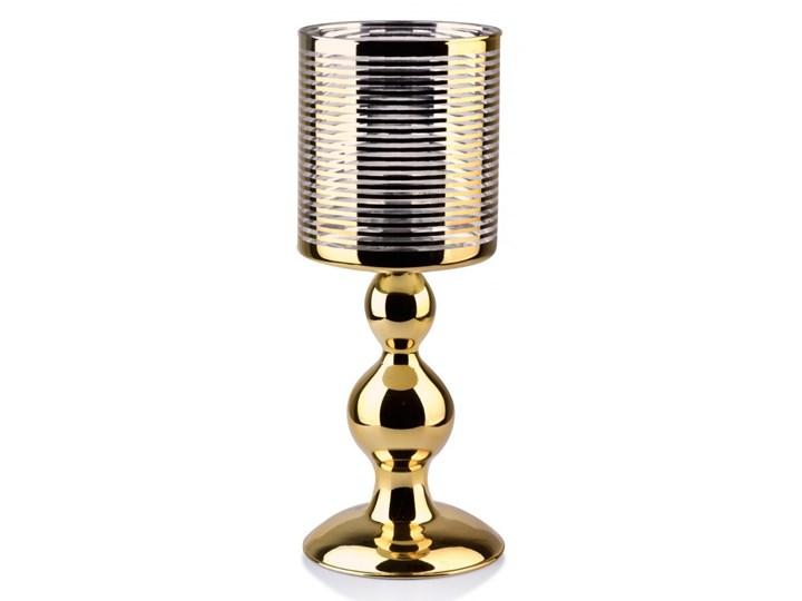 RITA ZŁ Świecznik 11x29cm szklany Szkło Lampion Kategoria Świeczniki i świece
