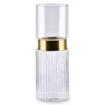 SERENITE CLEAR Świecznik 10x10x28.5cm
