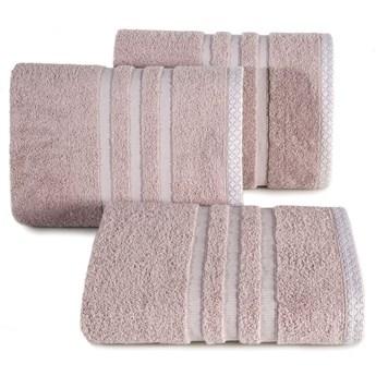Ręcznik ALAN 70x140cm pudrowy