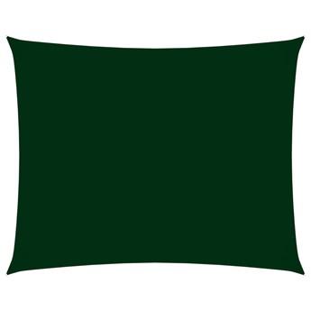 vidaXL Prostokątny żagiel ogrodowy z tkaniny Oxford, 2x3 m, zielony