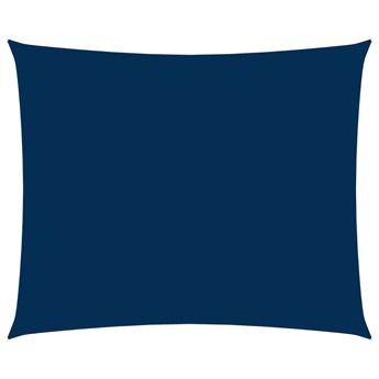 vidaXL Prostokątny żagiel ogrodowy z tkaniny Oxford, 2x3 m, niebieski