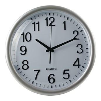 Okrągły zegar biały - Erto