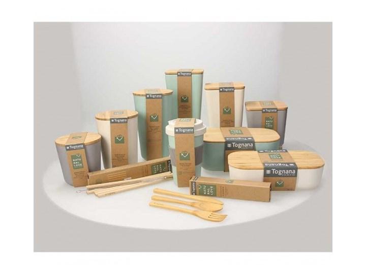 Szklany pojemnik Tognana Natural Love, prostokątny 250 ml Szkło Na żywność Drewno Typ Pojemniki Kategoria Pojemniki i puszki