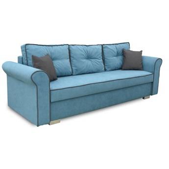 Sofa z Funkcją Spania Merida Turkusowy