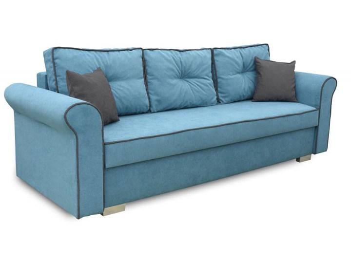 Sofa z Funkcją Spania Pele Turkusowy Stała konstrukcja Głębokość 85 cm Kategoria Sofy i kanapy Rozkładanie Rozkładana