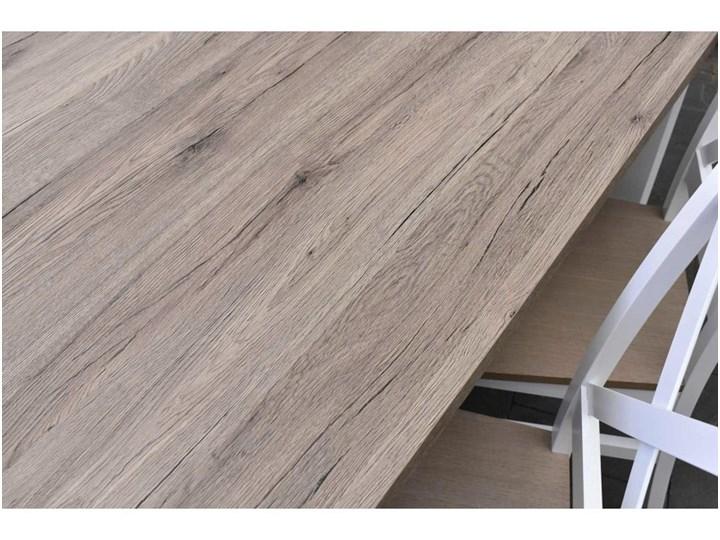 Stół + 5 Krzeseł do Kuchni Jadalni 120x80 Brąz Pomieszczenie Jadalnia