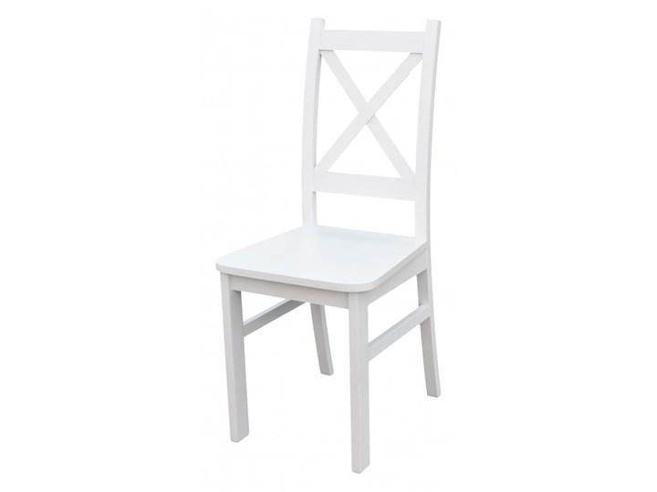 Stół + 5 Krzeseł do Kuchni Jadalni 120x80 Biały Pomieszczenie Jadalnia