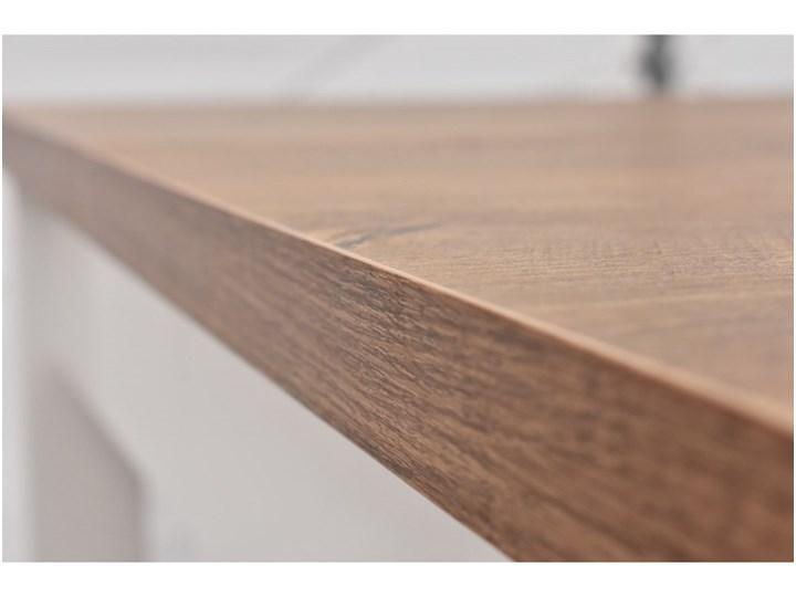 Stół + 4 Krzesła do Kuchni Jadalni 190/90x90 Brąz Kategoria Stoły z krzesłami