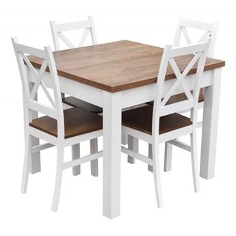 Stół + 4 Krzesła do Kuchni Jadalni 190/90x90