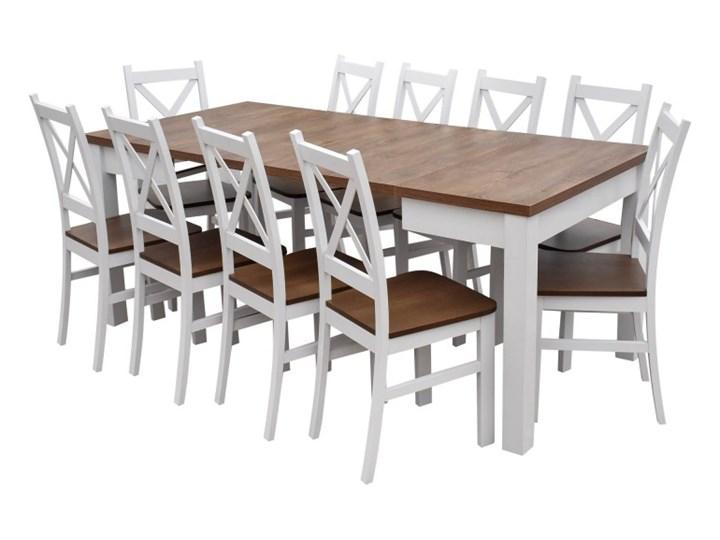 Stół + 4 Krzesła do Kuchni Jadalni 190/90x90 Brąz Kolor Beżowy Kategoria Stoły z krzesłami